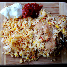 Lucknow Chicken Biryani