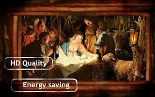 Screenshot of Jesus in Manger Live Wallpaper