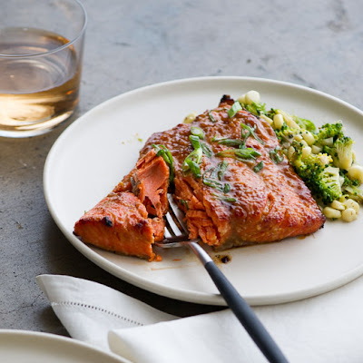 Roasted Miso-Glazed Salmon