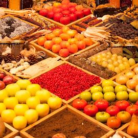 Grand Champ Gardening by Robert Briggs - Food & Drink Fruits & Vegetables ( raspberry, tomoto, pears, apples, garden, sweet potato, berries )
