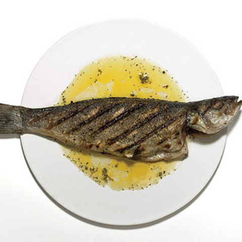 Grilled Branzino with Ladolemono
