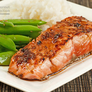 Salmon Fillet With Sauce Recipes
