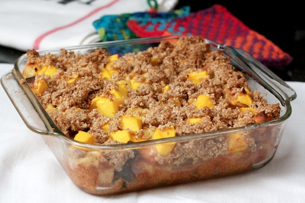 Mango Crumble Breakfast Bake Recipe | Yummly