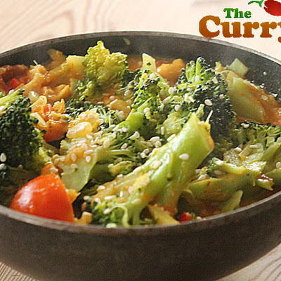 Broccoli Curry – My Favourite Vegetarian Meal