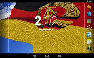 Screenshot of East Germany Flag LWP