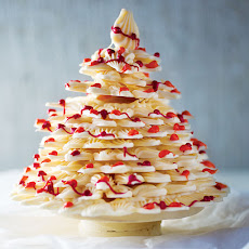 White Chocolate Christmas Tree