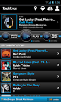 Screenshot of TouchTunes