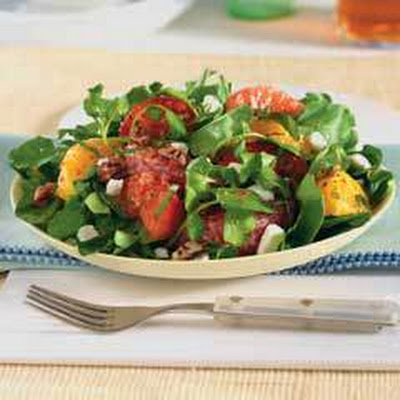 Goat Cheese, Citrus & Tomato Salad