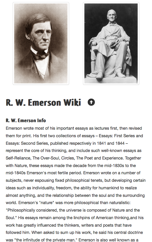 ralph waldo emerson essay education summary Quick answer the american scholar by ralph waldo emerson is an essay on what it meant to be a scholar in the america of his day it was originally delivered as a speech to the phi beta kappa society at harvard university on august 31, 1837.