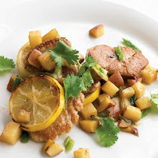 Pan-Seared Pork with Potatoes and Lemon