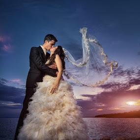 by Petar Lupic - Wedding Bride & Groom