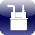 gas rate calculator icon