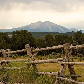 Mount Sopris by Dan Ferrin - Landscapes Mountains & Hills ( mountain, nature, sopris, mount sopris, landscape, spring valley )