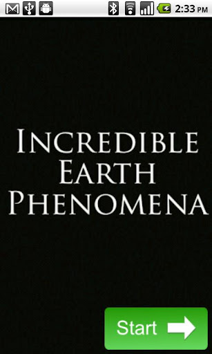 Incredible Earth Phenomena