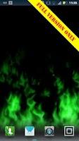 Screenshot of Flames Live Wallpaper (free)