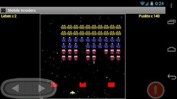 Screenshot of Mobile Invaders