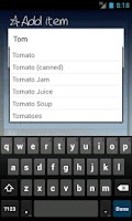 Screenshot of Shopping List - ListOn