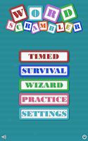 Screenshot of Word Scrambler Free