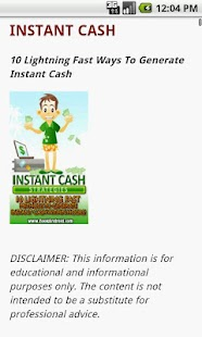Instant Cash - screenshot