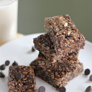 Dark Chocolate Brown Rice Crispy Treats