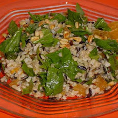 Orange Apricot Rice Salad