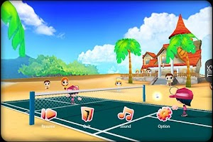 Screenshot of 3D Badminton II