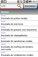 Screenshot of Bases de la cocina