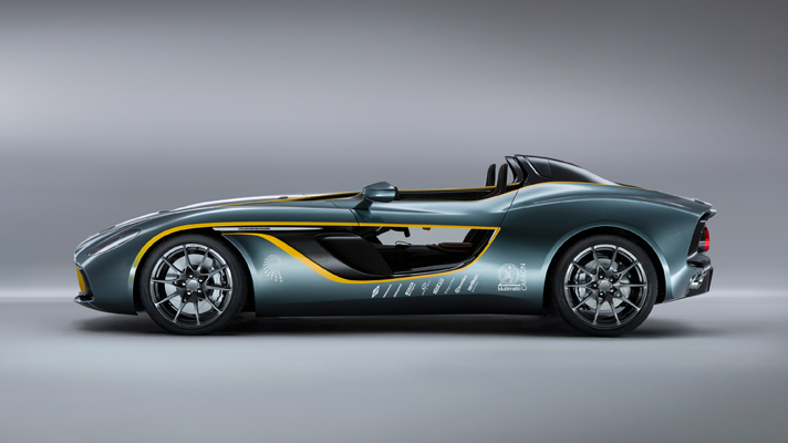 Aston Martin CC100 side