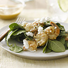 Spinach Salad with Shrimp and Feta