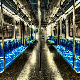 NYC S-line by Hiro Nakajima - Transportation Trains ( subway, hdr, shuttle, nyc, new york,  )