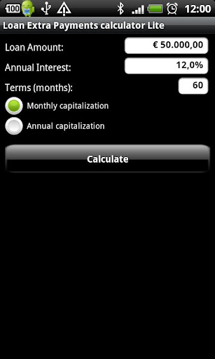 Loan Extra Pay calculator Lite