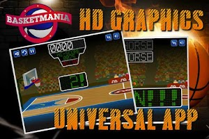 Screenshot of Basketmania: Basketball game