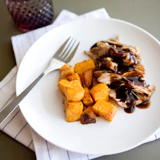 Brown Sugar and Balsamic Slow Cooked Pork