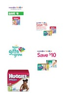 Screenshot of Diaper Coupons