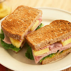 Hawaiian Ham Sandwiches