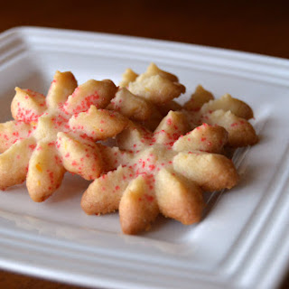 Orange Spritz Cookies Recipes