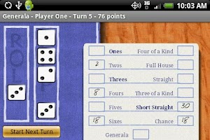 Screenshot of Generala Free (YahtZ)