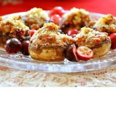 Cranberry Stuffed Mushrooms Recipe