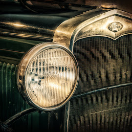 Vintage Car by Dobrinovphotography Dobrinov - Transportation Automobiles ( car, old, beauty and health, elegance, land vehicle, sepia toned, transportation, hobbies, luxury, collector's car, restoring, vintage car, model t ford, domestic car, artificial model, individuality, mode of transport, classic )