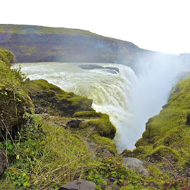 Gullfoss with GoPro by Tyrell Heaton - Instagram & Mobile Other ( noviewfinder, gopro, waterfall, gullfoss, mobile )