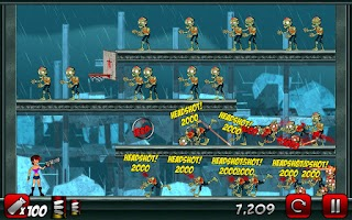 Screenshot of Stupid Zombies 2