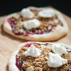 Raspberry Cobbler Pizza