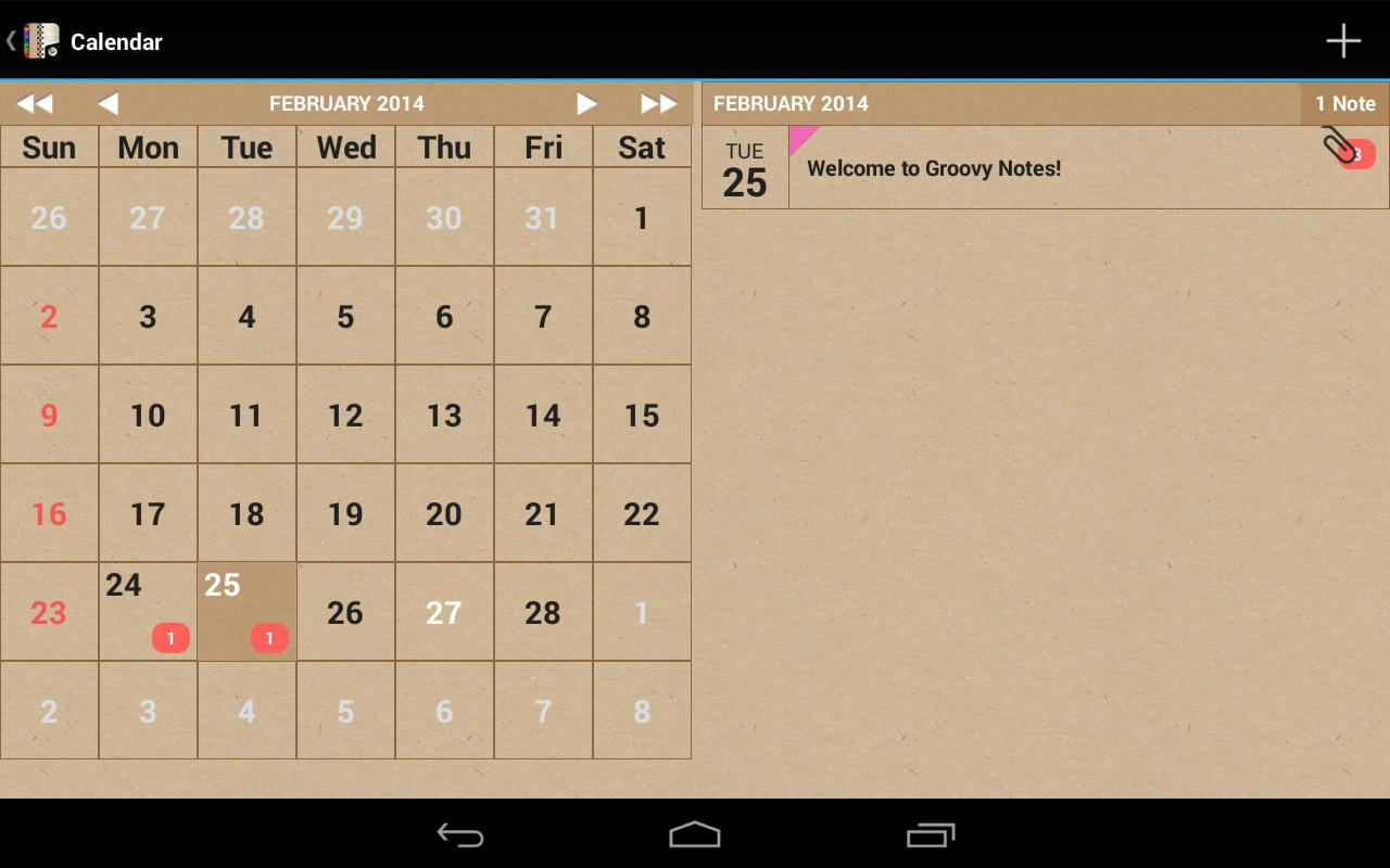 Groovy Notes - Personal Diary Screenshot 18