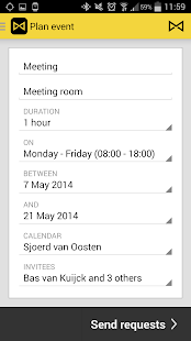 WAVE Scheduler - screenshot