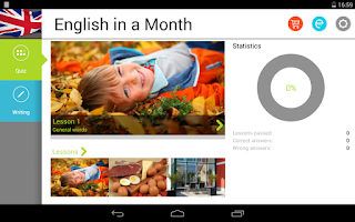 Screenshot of English in a Month Free