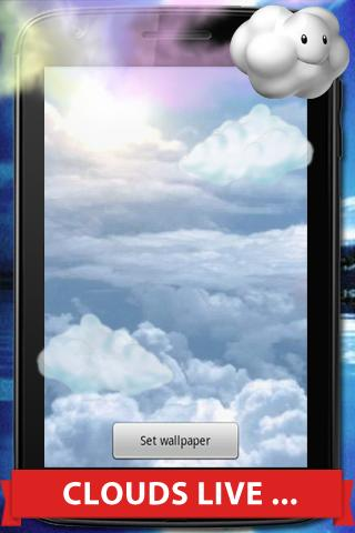 Cloud Live Wallpaper
