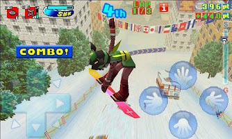 Screenshot of Snowboard Kids Free