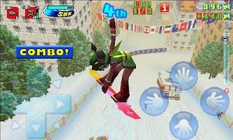 Screenshot of Snowboard Kids Free