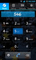Screenshot of BluFrost Theme for CM7