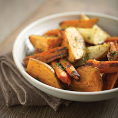 Smoke-Roasted Rustic Root Vegetables